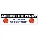 Abolish penny