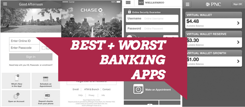 Best and Worst Mobile Banking Apps