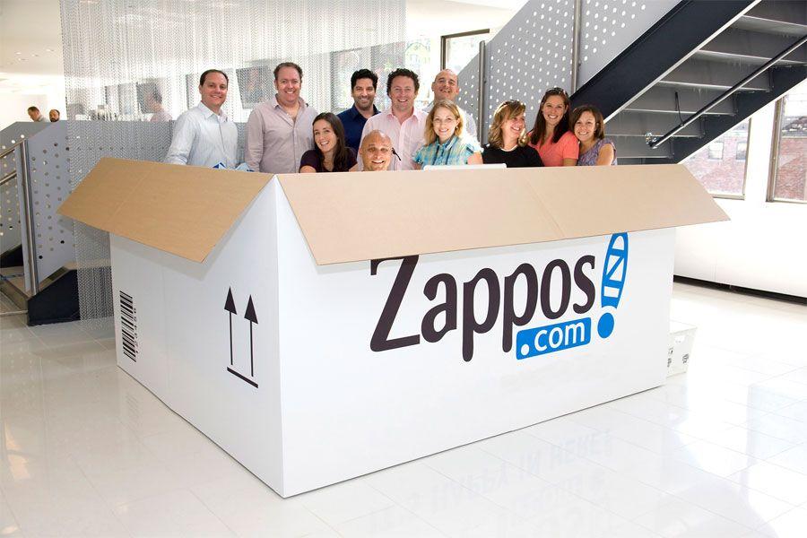 best customer service companies: zappos