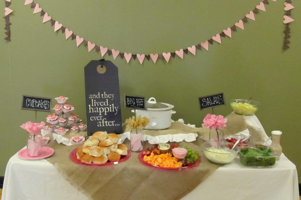 bridal shower decorations ideas pictures