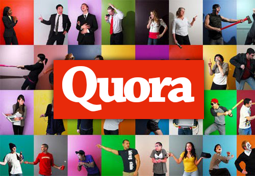 How does Quora make money? quora logo with users