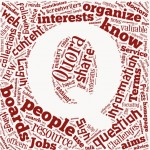 How does Quora make money? quora logo made of different topics